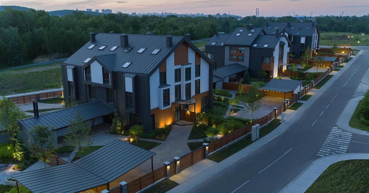 ZV development переселяют украинские семьи из квартир в экологичные дома.