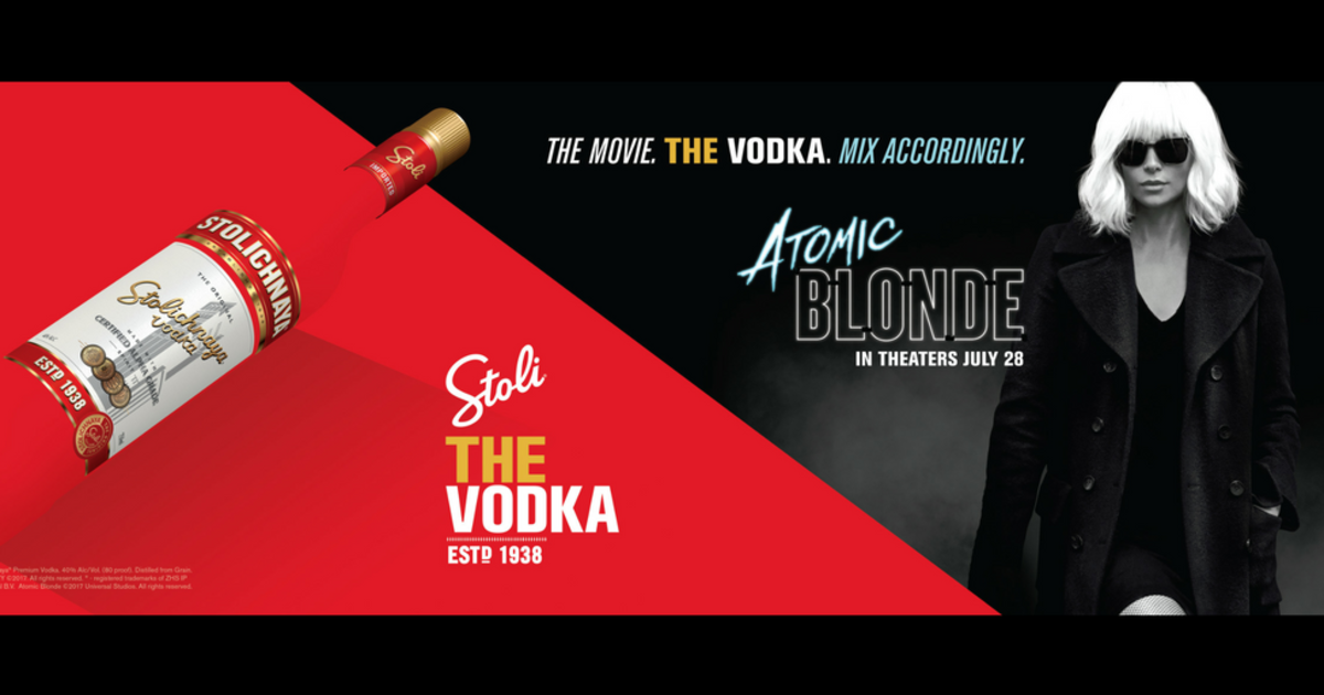 У Бонда Martini, у Атомной Блондинки — водка «Столичная».