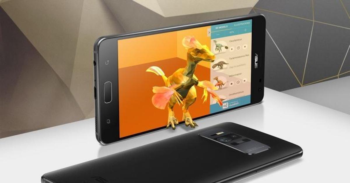 Asus выпустил первый в мире AR-смартфон.