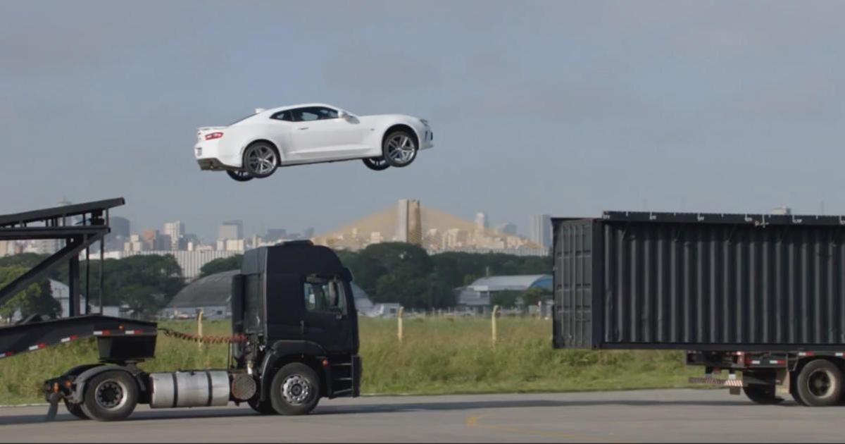 McCann заставило Chevrolet проделать цирковые трюки.