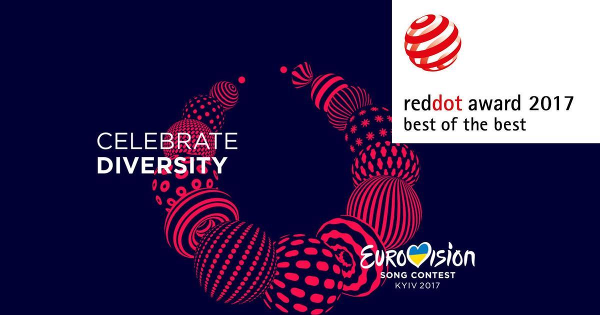 Айдентика «Евровидения» получила одну из главных наград в мире дизайна.