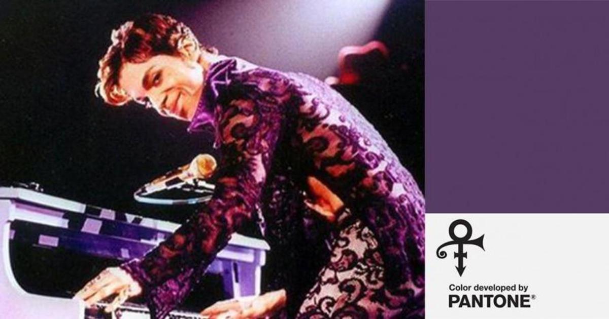 Pantone выпустил цвет в честь Принса.