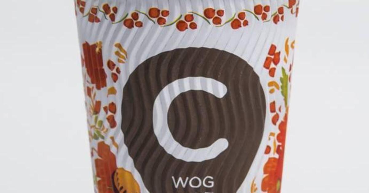 WOG выпустил «петриковские» стаканчики ко Дню Независимости.