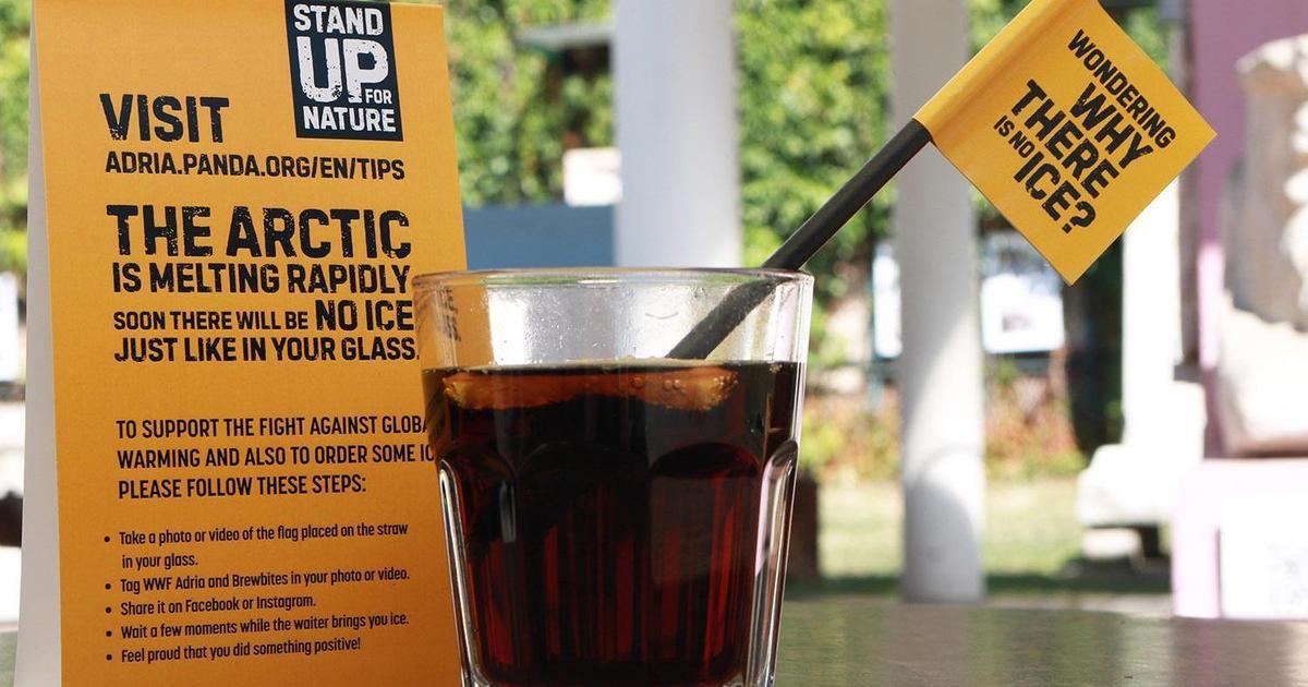 В Хорватии гостям предложили напитки без льда в рамках социальной кампании.