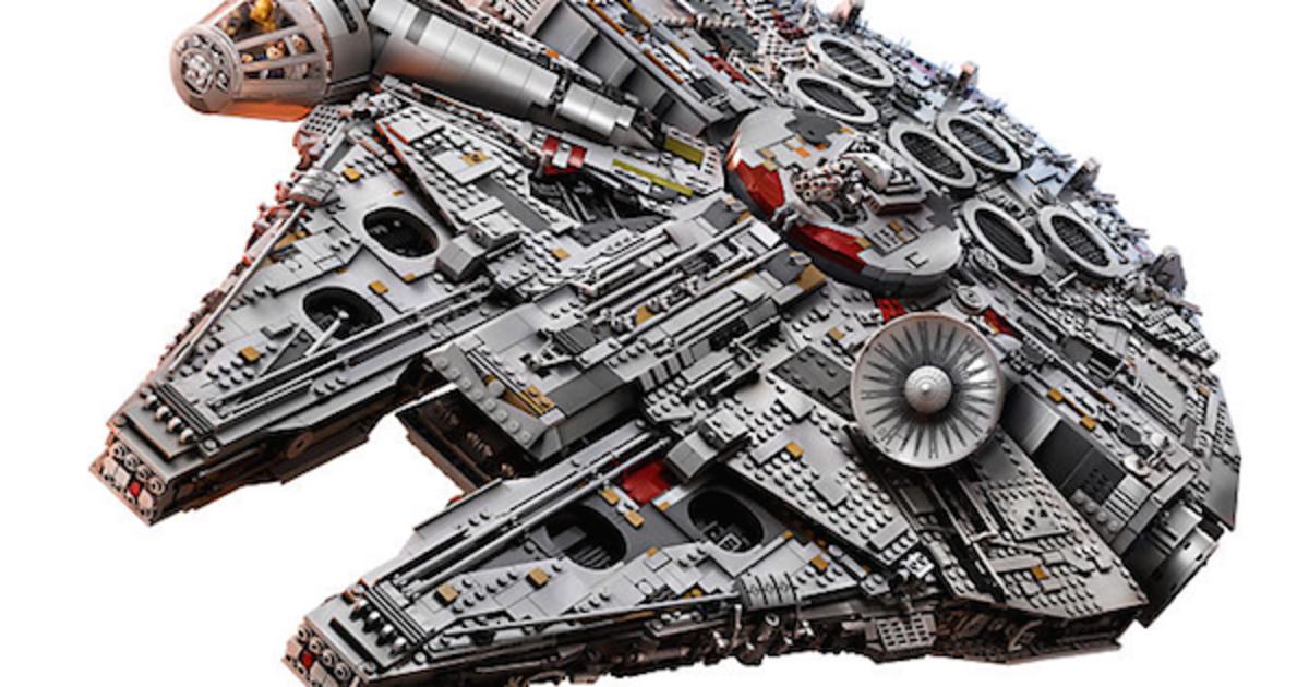 LEGO выпустила модель «Тысячелетнего сокола» для фанов «Звездных войн».