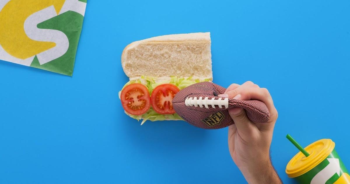 Вкусная реклама Subway подготовила болельщиков NFL к новому сезону.