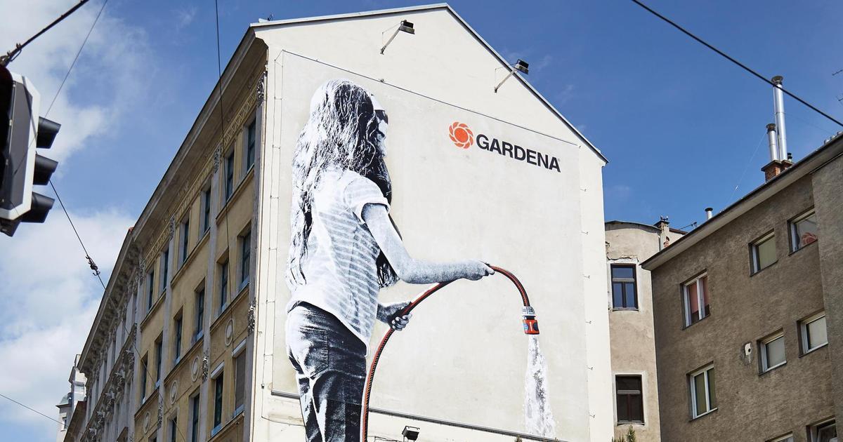 Расти со своим садом: умный мурал Gardena.