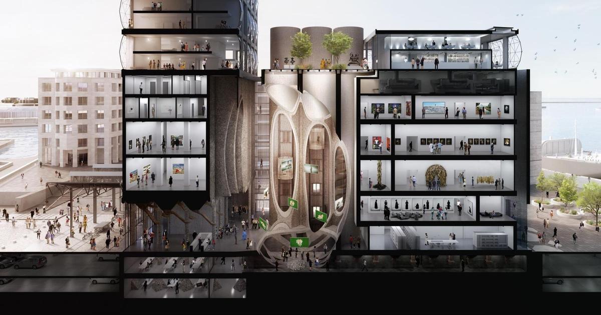 M&C Saatchi создало фирменный стиль музея современного искусства в Африке.
