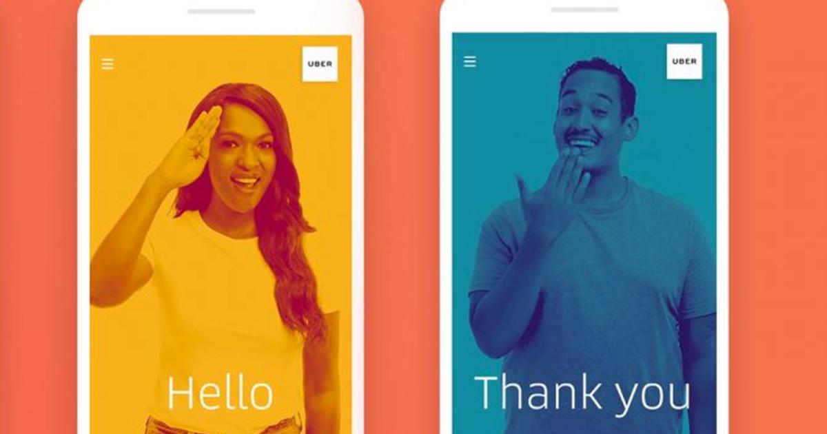 Uber научит «произносить» свое имя с помощью языка жестов.