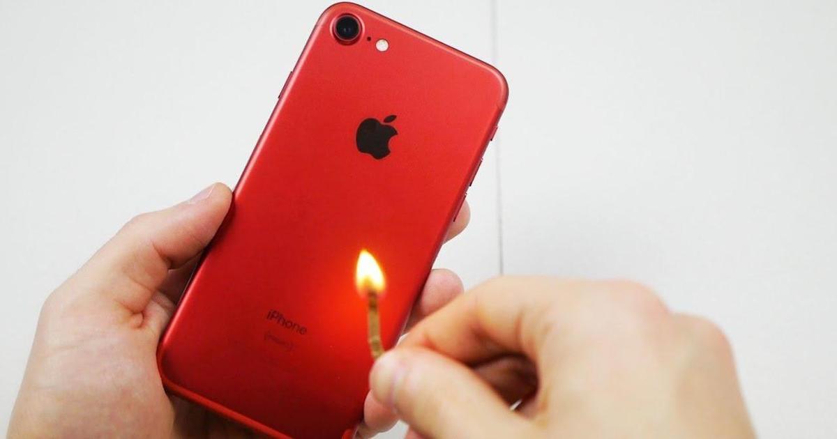 Первое вздутие iPhone 8 Plus зафиксировано в Тайване.