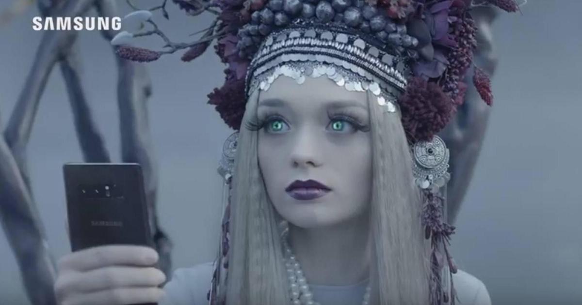 Украинская мифология вдохновила мистическую кампанию Galaxy Note8.