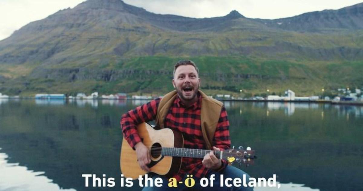 Исландия выпустила самую сложную песню караоке для туристов.