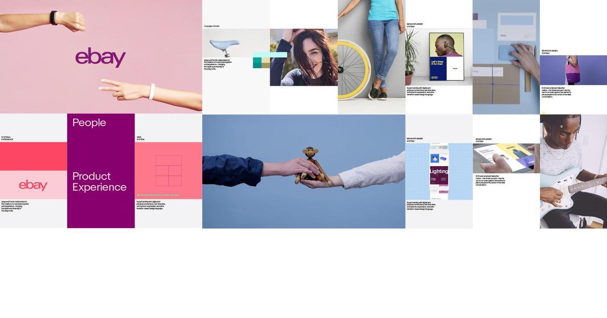 eBay представила одноцветное лого и яркий сайт.