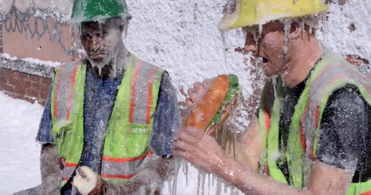 Thinkmodo устроили ледяной пранк в такси в честь выхода «Геошторма».