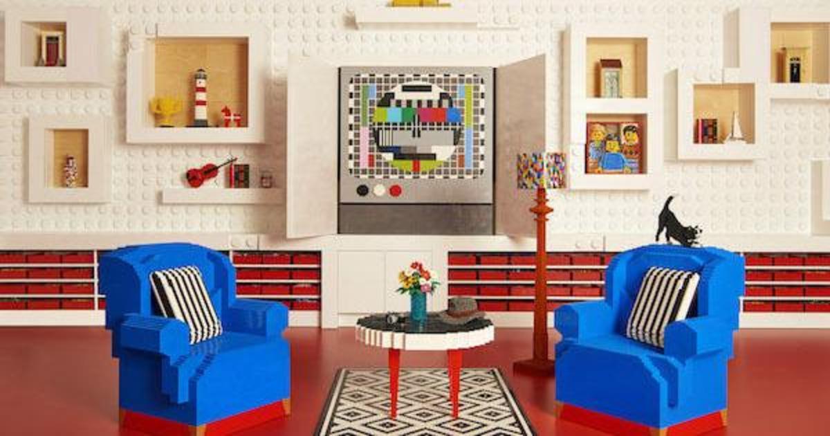 На Airbnb появился дом из LEGO.
