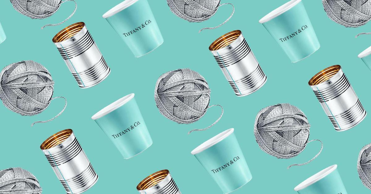 Tiffany & Co предложил купить жестяную банку за 1000 долларов.