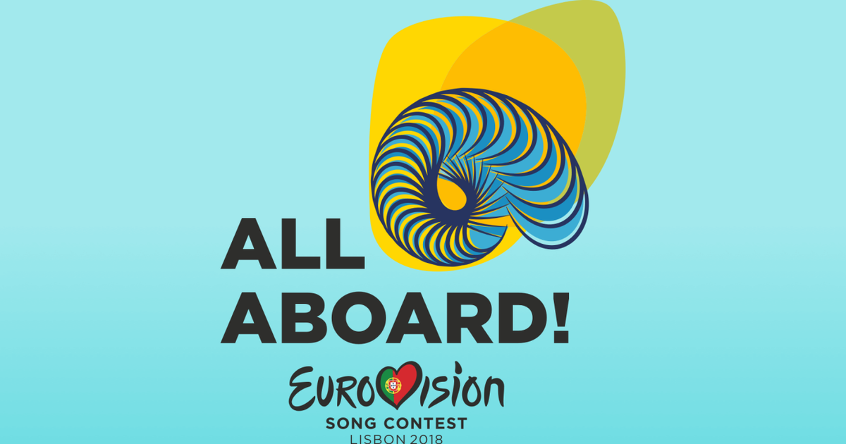 «Все на борт!»: Португалия представила лого и слоган Евровидения.