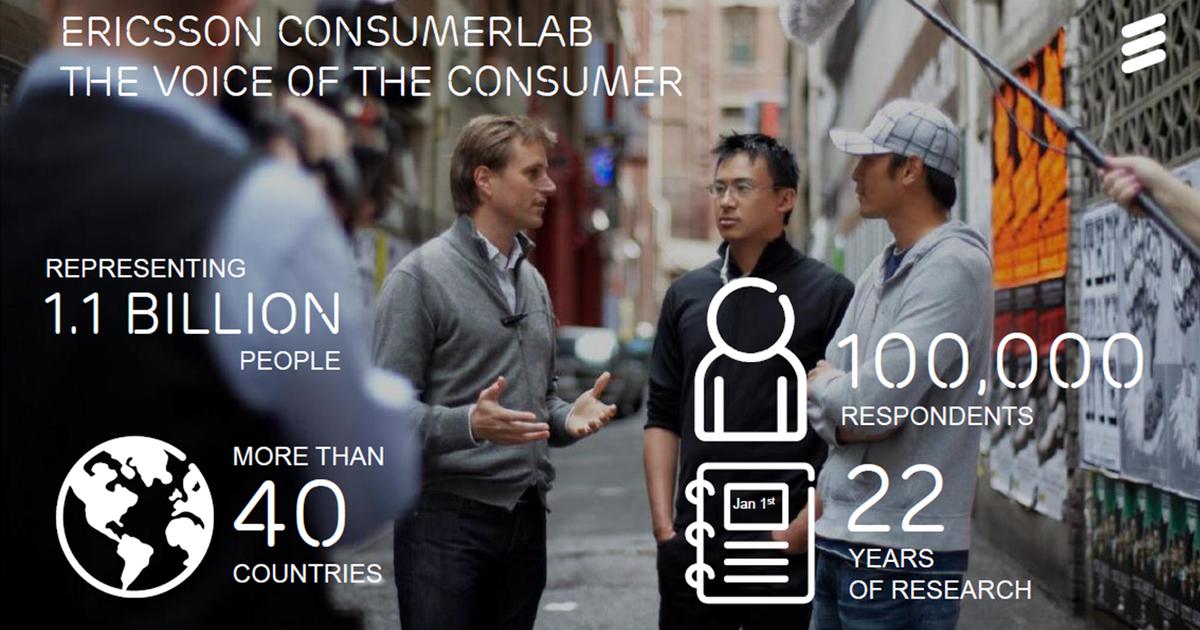 Ericsson ConsumerLab опубликовал TV & Media Report 2017.