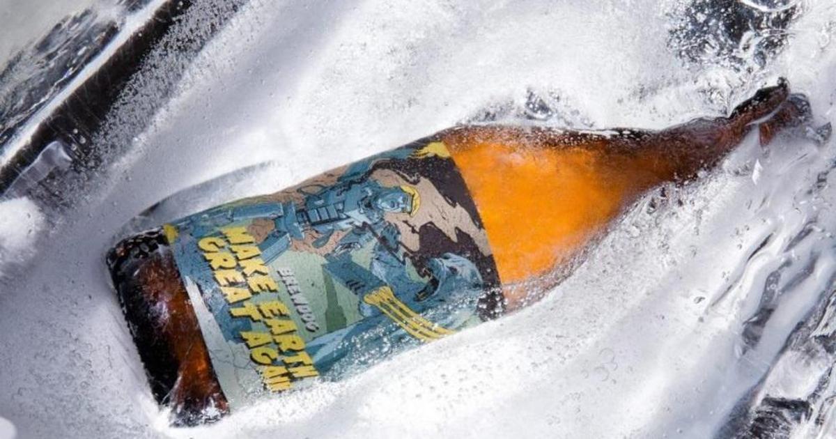 В Шотландии сварили пиво для борьбы с глобальным потеплением.