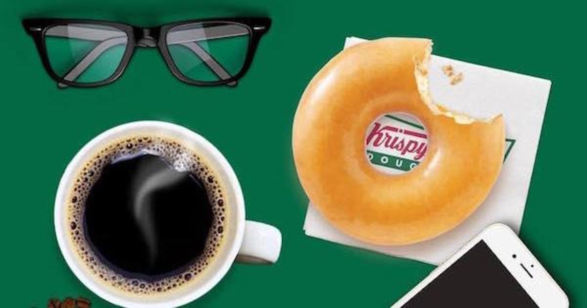 Krispy Kreme раздал пончики во Всемирный день борьбы с диабетом.