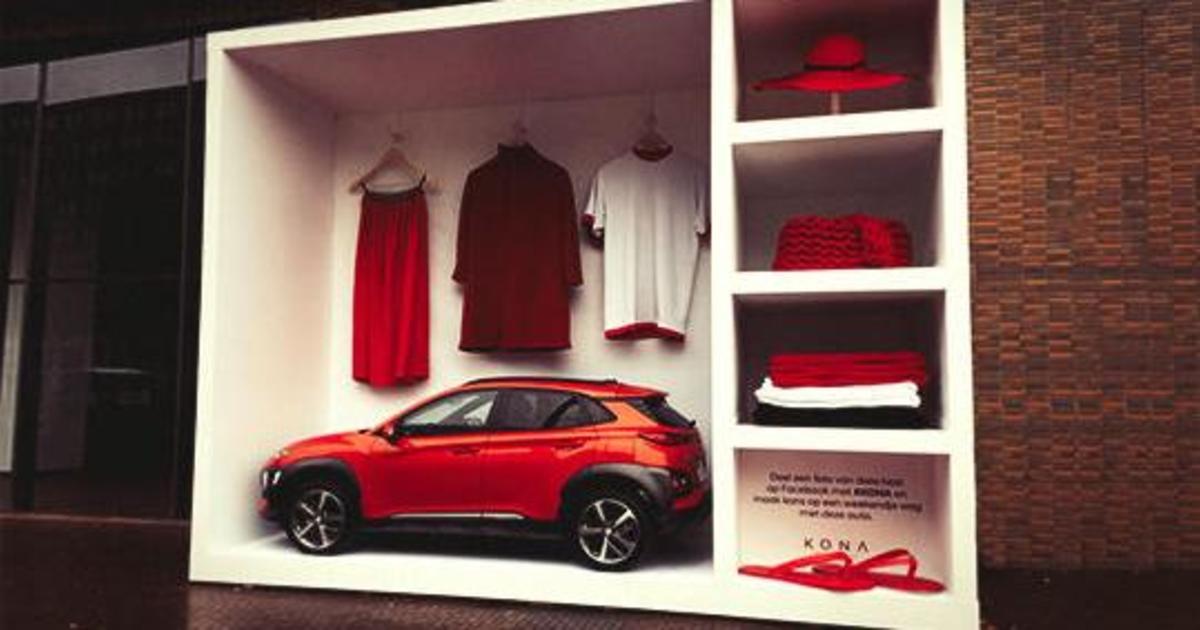 Hyundai превратил новую KONA в fashion-икону.