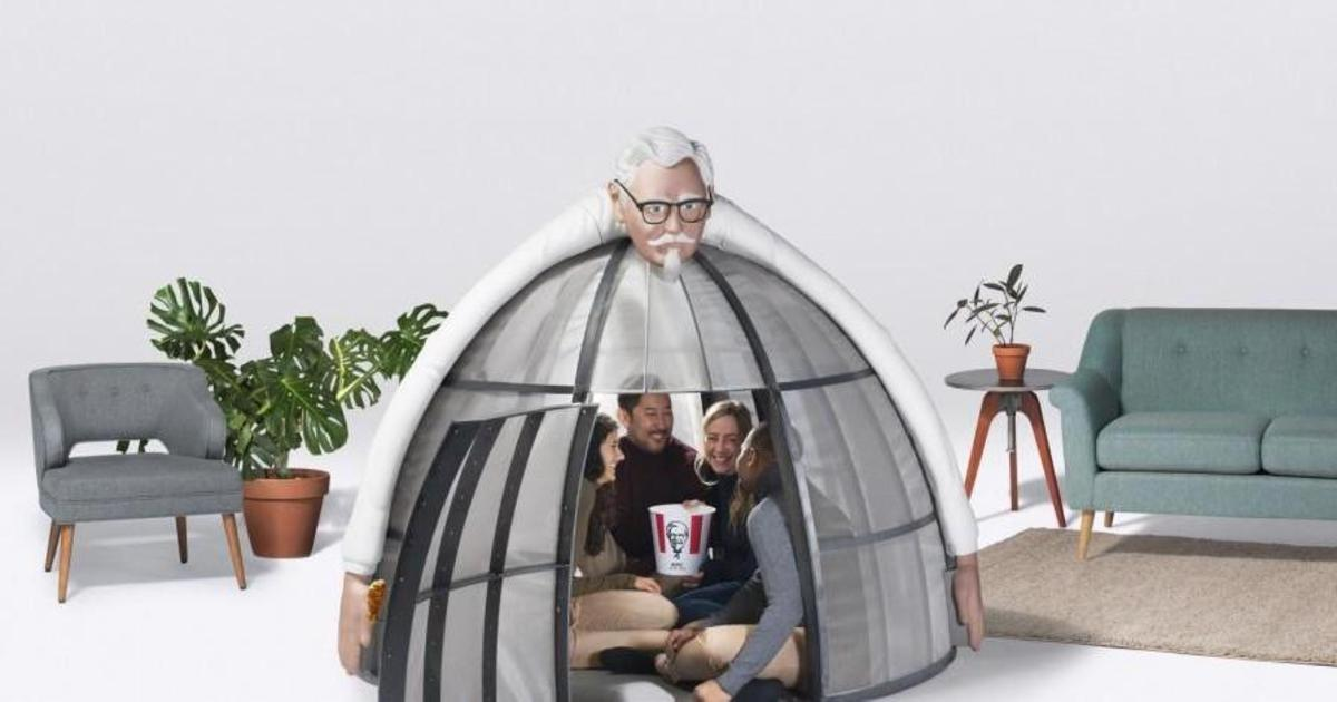 KFC спрячет от суеты в железной конструкции за $10 тыс, где не ловит Wi-Fi.