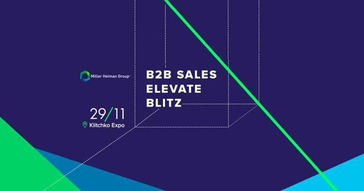 B2B Sales Elevate Blitz-2017.