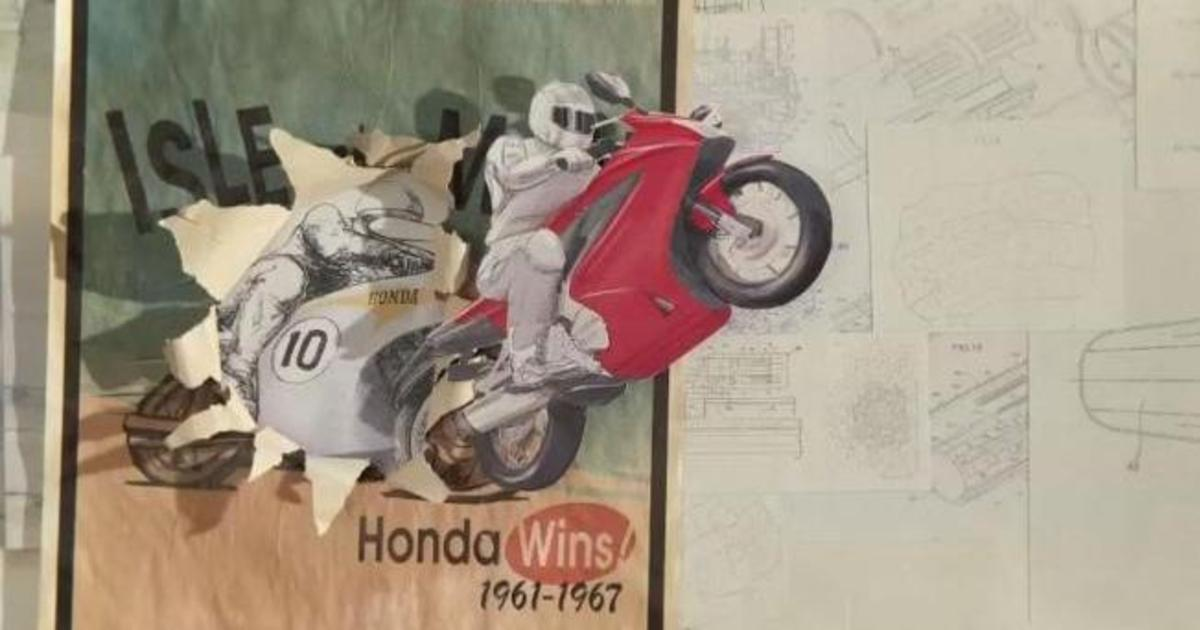 Honda рассказала всю историю бренда на бумаге.