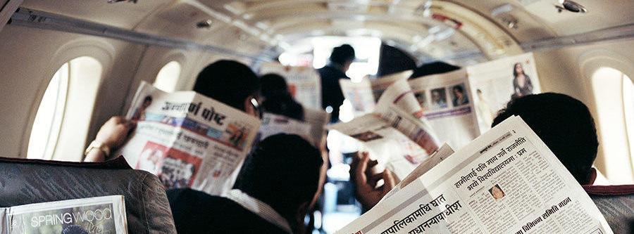 Разрывая стереотипы: подборка лучшей бумажной рекламы