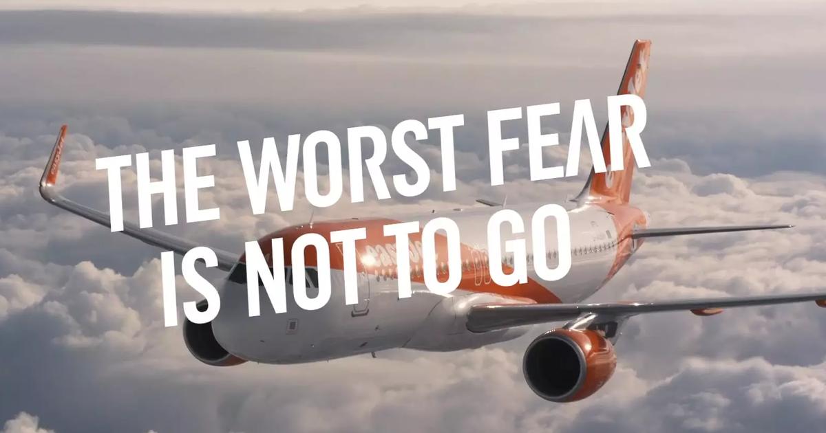 EasyJet показал самый худший страх на фестивале фильмов ужасов.