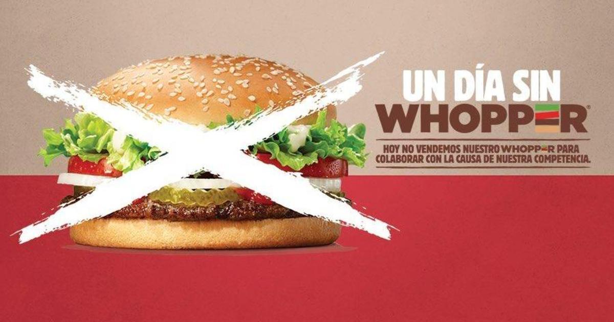 Burger King в Аргентине отправил покупателей в McDonald's.