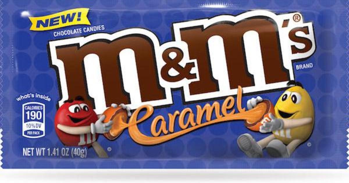 Драже M&M's взяли на работу карамель.