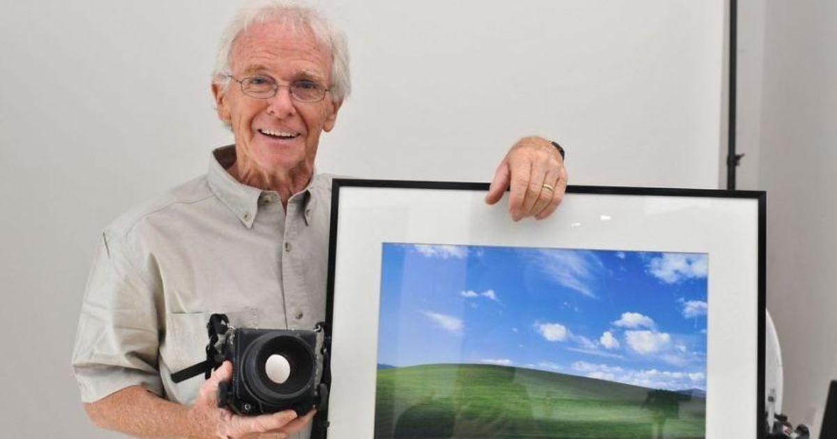 Автор легендарной заставки для Windows XP снял новые фото спустя 21 год.