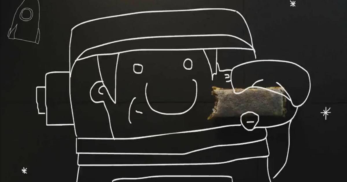 Для батончиков EatMe выпустили ролик о съедобной упаковке.