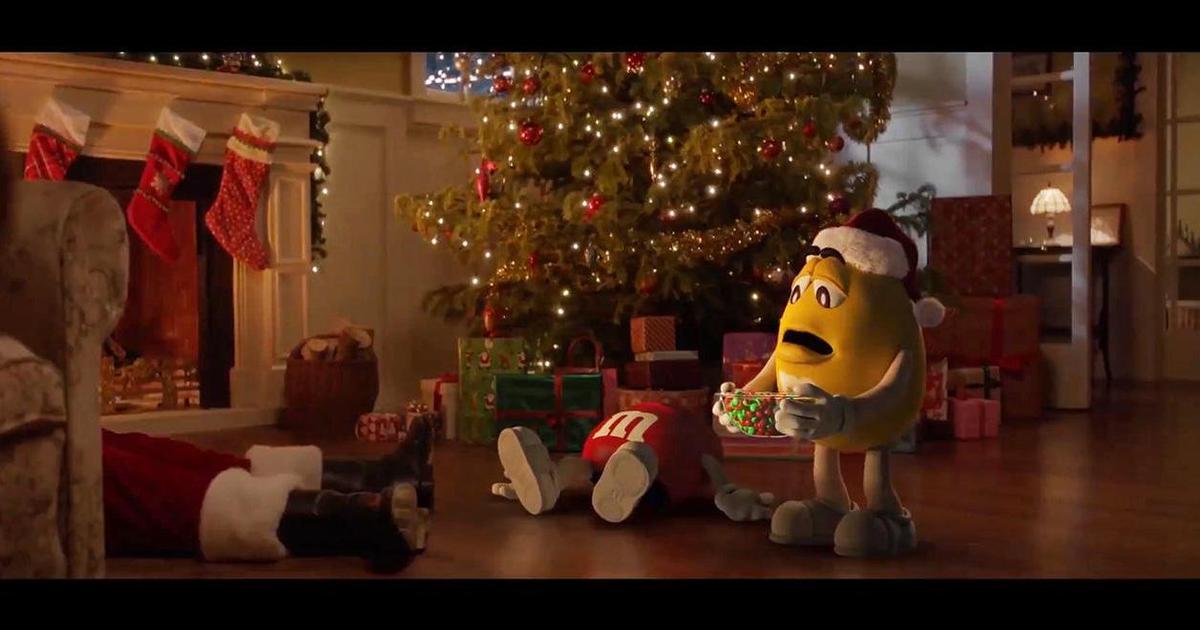 21 год спустя M&M's выпустил продолжение рождественской истории.