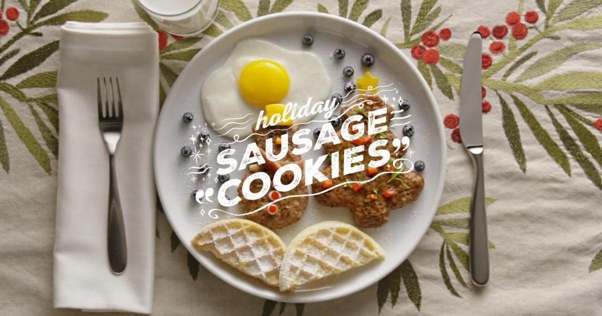 Сосисочный бренд создал мясную альтернативу рождественским сладостям.