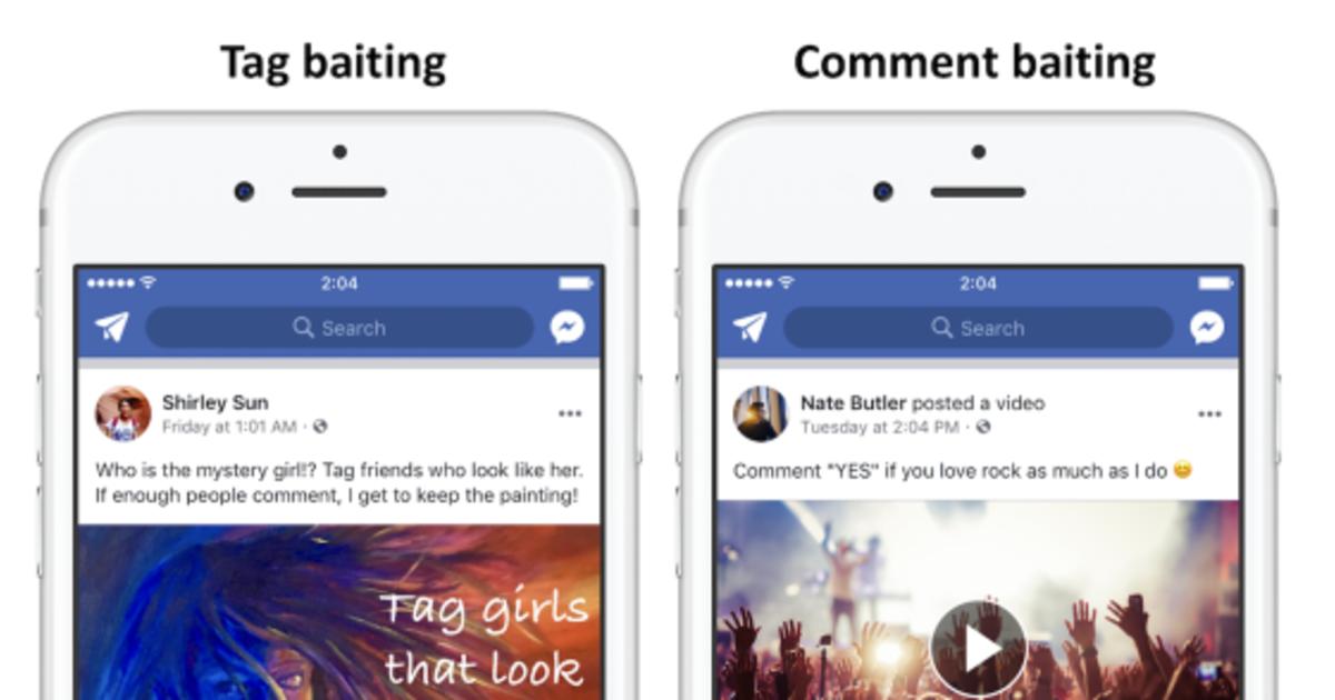 Facebook понизит посты, которые выпрашивают лайки, шеры и комментарии.