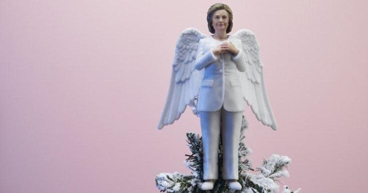 Ёлки-палки: Клинтон, Бейонсе и Серена Уильямс покоряют новую вершину.