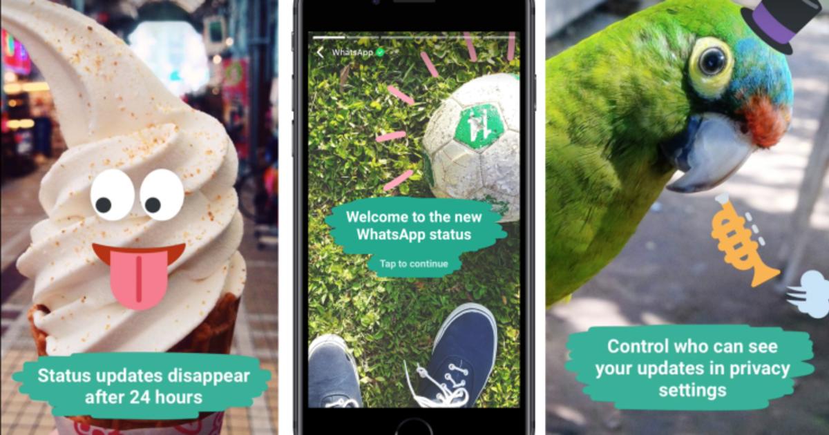В WhatsApp появятся Instagram Stories.