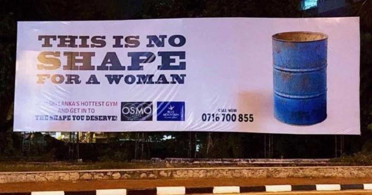 На Шри-Ланке женщины выступили против «бодишейминга» в рекламе.