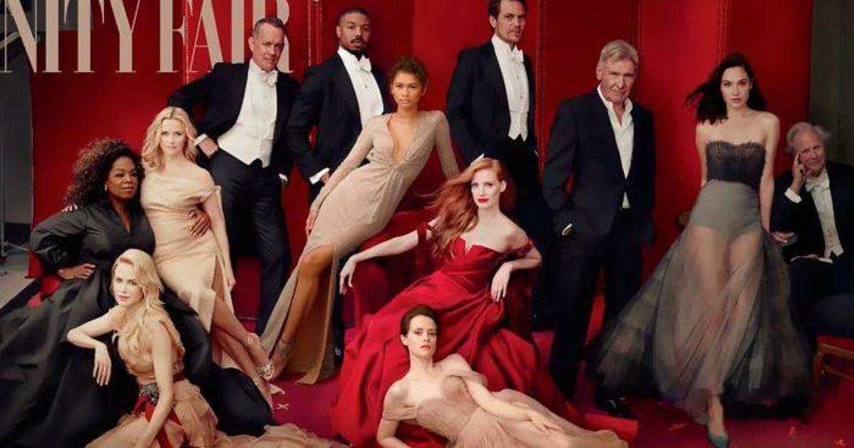 Фейлы Фотошопа: обложка Vanity Fair добавила третью ногу Риз Уизерспун.