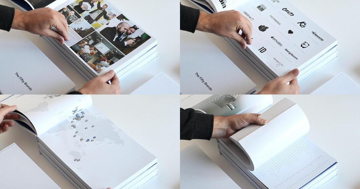 Украинские дизайнеры выпустили книгу о созданных ими брендах.