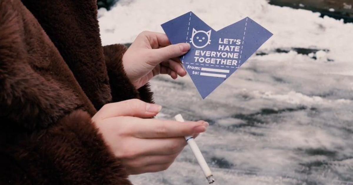 UAMASTER выпустили валентинки для скептиков.