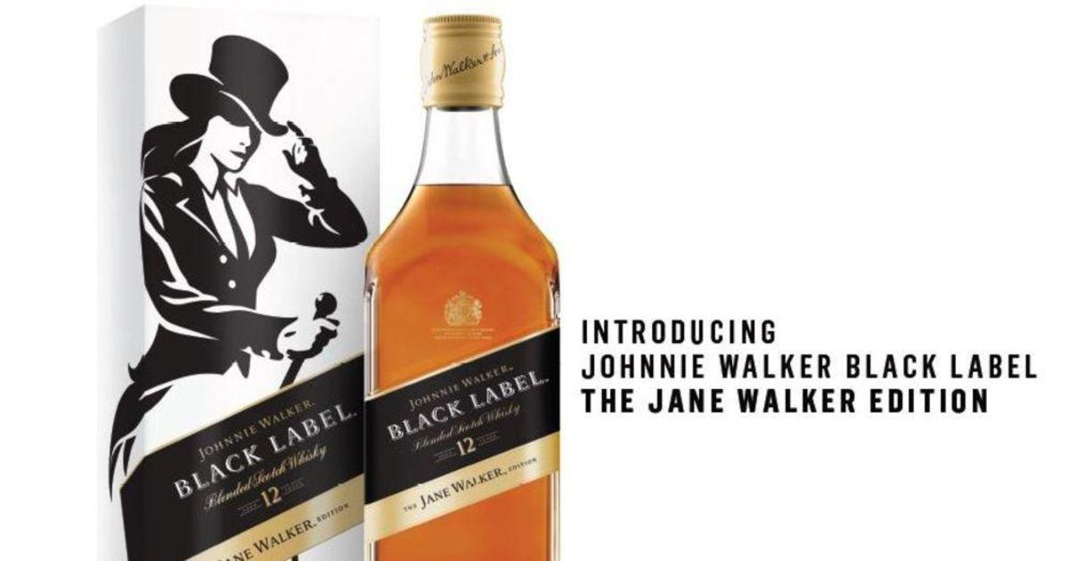 Johnnie Walker превратится в Jane Walker.