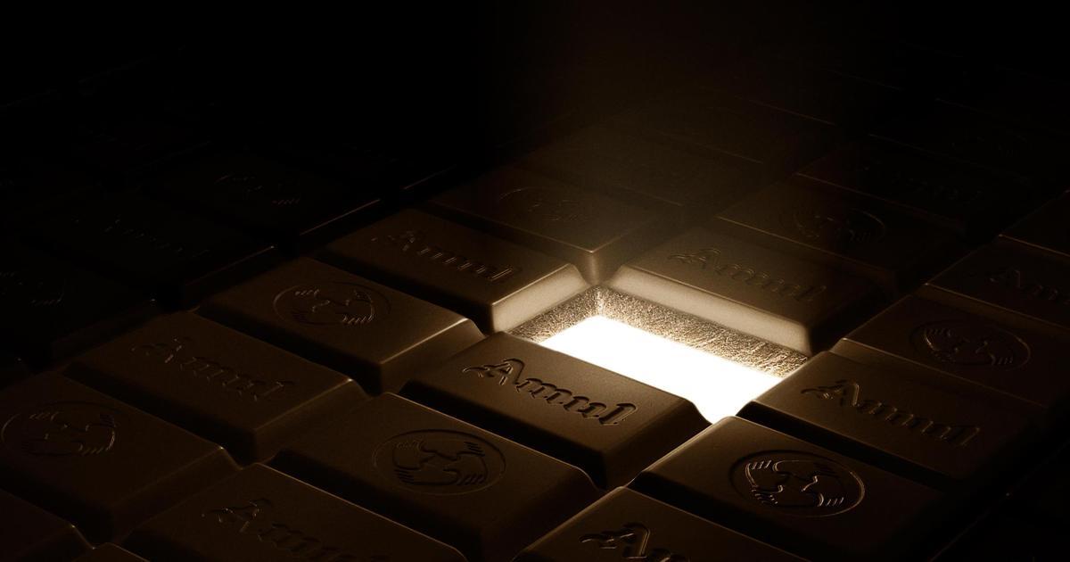 90 процентов темного: принты прорекламировали редкий темный шоколад.