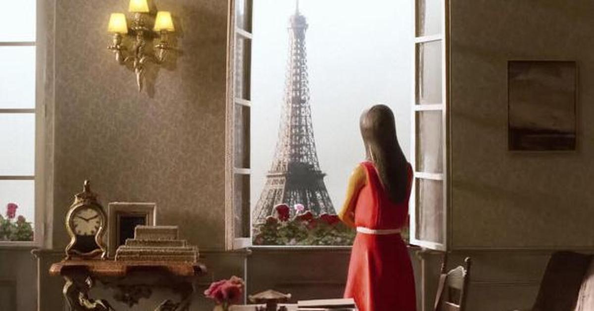 Airbnb использовали олдскульный метод анимации для создания другого Парижа.