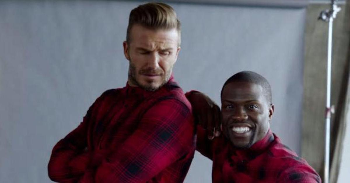 У Бекхэма появился близнец в новой кампании H&M.
