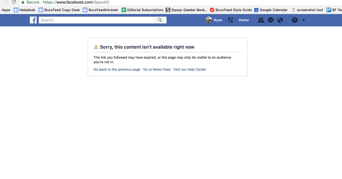 Илон Маск удалил страницы Tesla и SpaceX в Facebook.