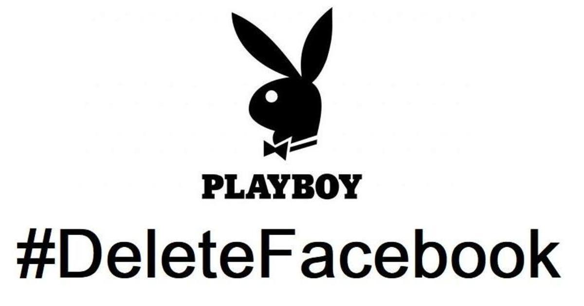 Playboy удалил свой аккаунт с Facebook.