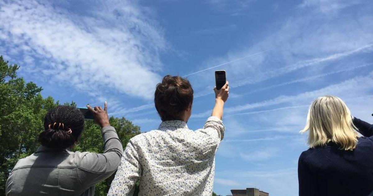 NASA просит понаблюдать за облаками с помощью приложения.